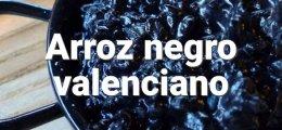 Arroz negro valenciano